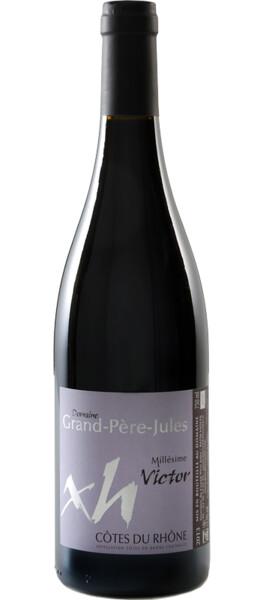 Domaine Grand Père Jules - aop côtes du rhône - cuvée victor - Rouge - 2019