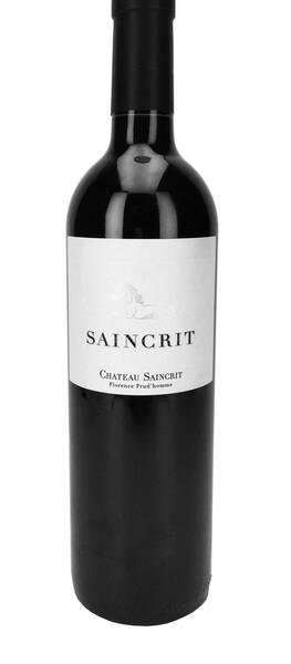 CHATEAU SAINCRIT - saincrit - Rouge - 2017