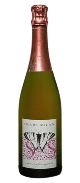 Domaine Milan  - le brut nature rosé - Pétillant - 2019