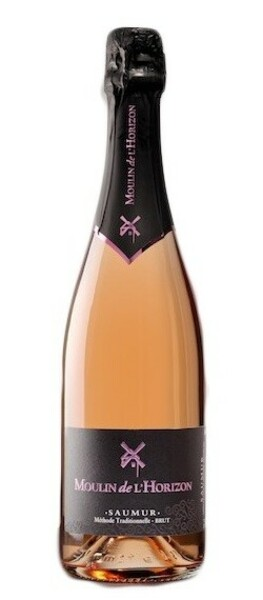 Domaine du Moulin de l'Horizon - saumur rosé brut - méthode traditionnelle - Pétillant