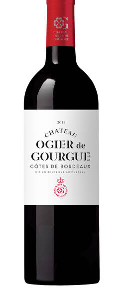 Château Ogier de Gourgue - château ogier de gourgue 2011 - Rouge - 2011