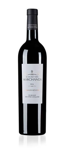 Le Manoir des Schistes  - secret  marchands, vin  sec. vin de pays  côtes catalanes - Rouge - 2016
