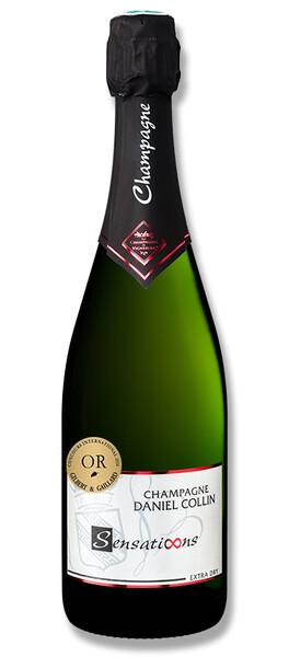 Champagne Daniel Collin - sensations, extra dry - Pétillant
