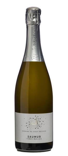 Domaine du Vieux Pressoir - saumur brut fines bulles - Blanc
