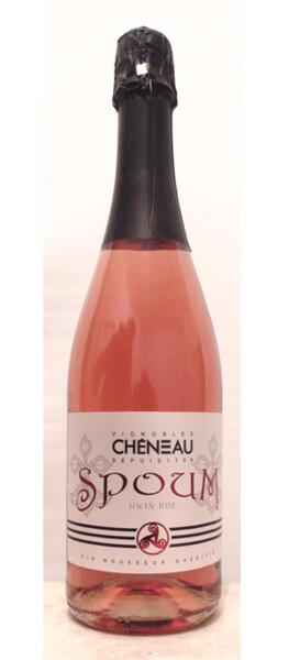 Vignobles Chéneau - spoum gwin roz - Pétillant