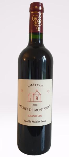 Domaine de Michel de Montaigne - grand vin - Rouge - 2016