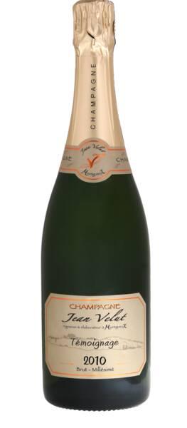 Champagne Velut - témoignage - Pétillant - 2010