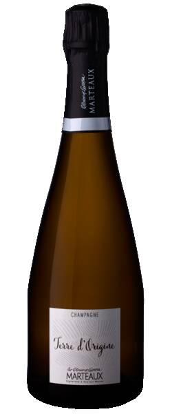 Champagne Olivier et Laetitia Marteaux - Terre d'origine - Pétillant