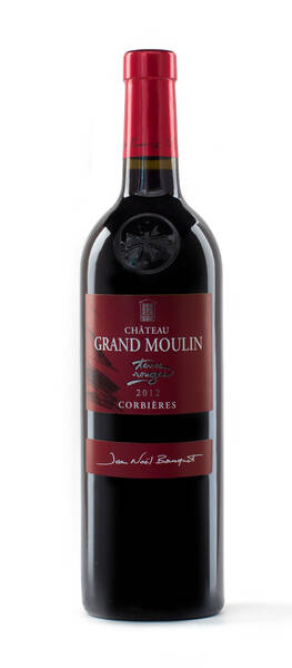 Château Grand Moulin  - terres rouges - Rouge - 2015