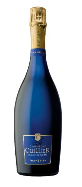 Champagne Cuillier - blanc de noirs - cuvée bleue - thanétien - Pétillant