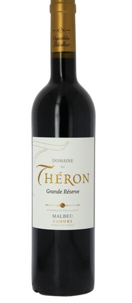 Vignobles Pelvillain                                                                                                - domaine du théron grande réserve - Rouge - 2014