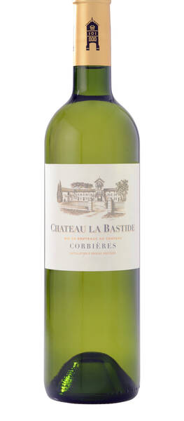 Château la Bastide - tradition  or paris & corbières; 18/20 terre de vin - Blanc - 2018