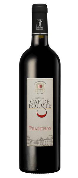 CHATEAU CAP DE FOUSTE - tradition - Rouge - 2018