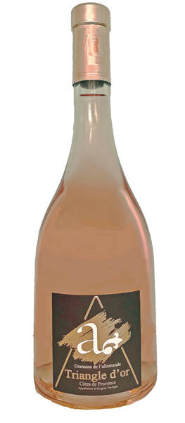 Domaine de l'Allamande - triangle d'or - Rosé - 2020