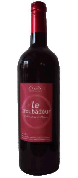 Croix Saint Julien  - le troubadour - Rouge - 2018
