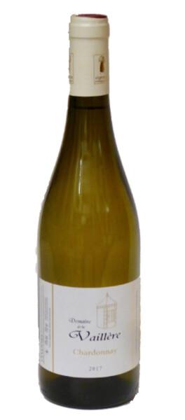 Domaine de la Vaillere  - chardonnay - 1 étoile guide hachette 2019 - Blanc - 2017