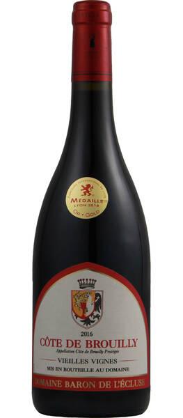 Domaine Baron de l'Ecluse - côte de brouilly - vieilles vignes - Rouge - 2018