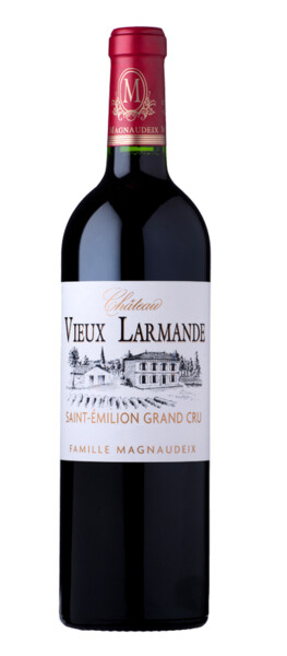 Vignobles Magnaudeix - château vieux larmande - Rouge - 2017