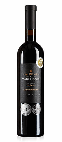 Le Manoir des Schistes  - secret  marchands, vin doux naturel. aop maury - Rouge - 2011