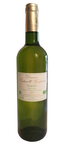Domaine MARTINOLLE-GASPARETS - bio  viognier - Blanc - 2019