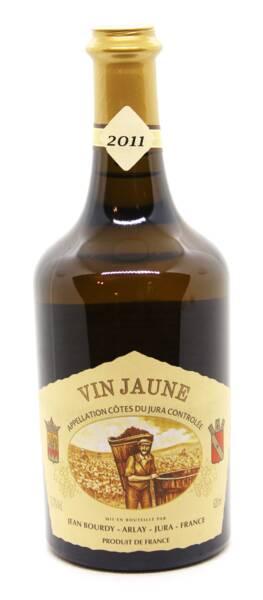 Domaine Jean Bourdy - côtes du jura vin jaune aoc - Blanc - 2011