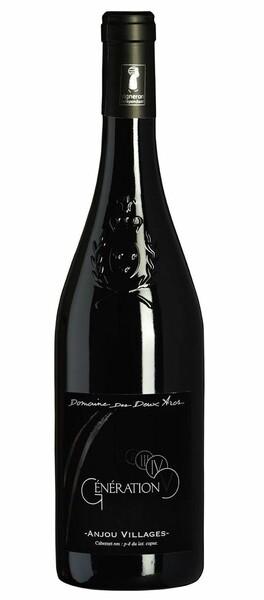 Domaine Des Deux Arcs - génération v anjou villages fût de chêne - liger d'or au concours  vins du val de loire 2019 - Rouge - 2018