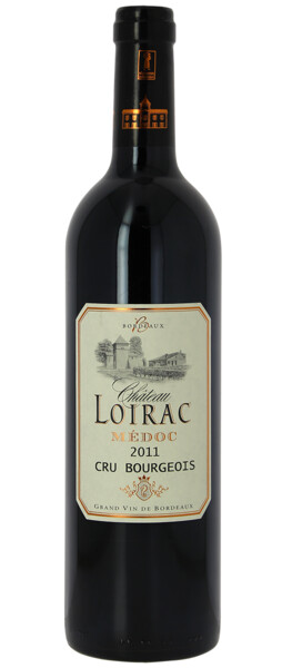 Chateau Loirac - Cru Bourgeois - Rouge - 2011