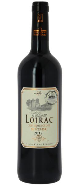 Chateau Loirac - cru bourgeois - Rouge - 2012