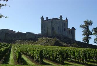 Tondeuses BIO au Château de Monbadon