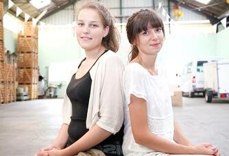 Amélie et Cécile Buecher du Vignoble des 2 lunes