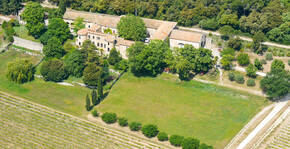 Château de Vérone - Vue aérienne