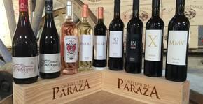 Gamme de vins du Chateau de Paraza
