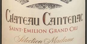 Ch. Cantenac Sélection Madame Saint Emilion Grand Cru