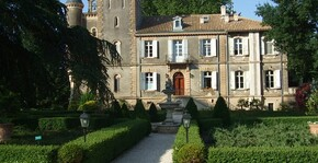 Château Capion - La façade du château
