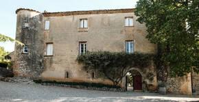 Entrée du Château Bas d'Aumelas
