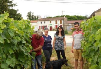 La famille Martin du Domaine de Poncereau de Haut Denis