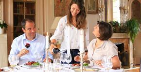 Damien, Maria et Caroline, Domaine Lamothe de Haux
