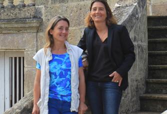 Elisabeth et Slanie de Pontac, du Château Myrat