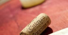 Le chai du Château Soucherie