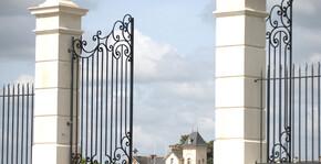 L'entrée du Château Soucherie