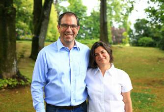 Damien et Maria Chombart du Château Lamothe de Haux
