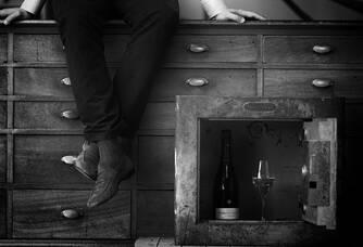 Cliché dans l'atelier des Champagnes Brimoncourt