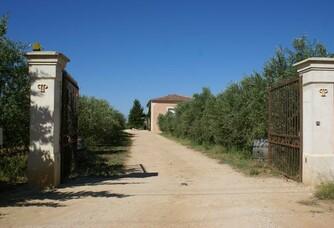 Entrée du Domaine Pieracci
